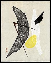 Original Japanese woodblock print by Haku Maki