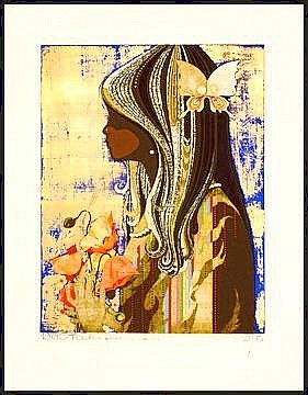 Artist: Nakayama, Tadashi, b. 1927 Title: Profile