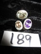 14K Ring with Green Amethyst, Purple Amethyst, Smoky Quartz and Diamonds