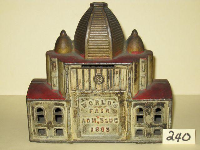 1893 Columbian World's Fair CI Souvenir Bank