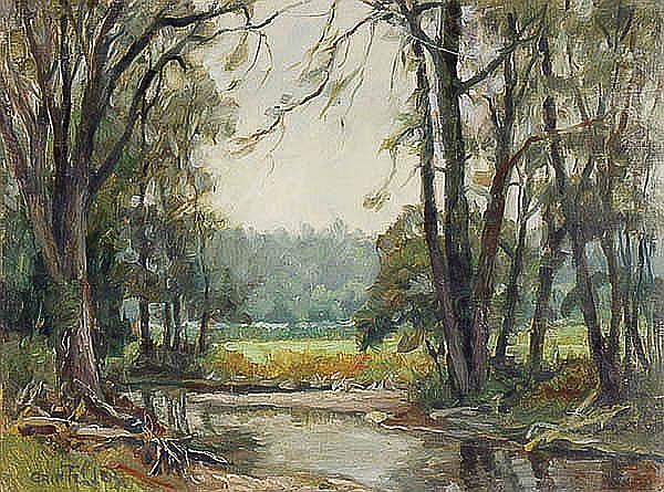 Grif Teller (American 1899-1993) South Pomeret,