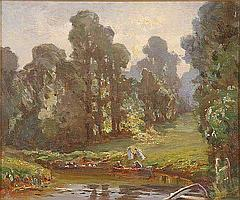 OIL PAINTING, HENRY CHARLES CLIFFORD