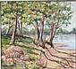 OIL PAINTING, AUGUSTUS DUNBIER, Augustus William Dunbier, Click for value