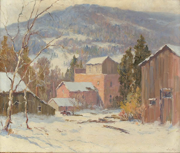 JESS HOBBY (American 1871-1938)