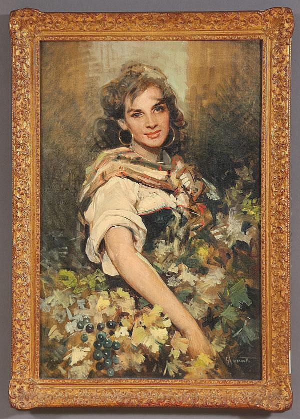 GIORDANO GIOVANETTI (Italian 1906-1973), Gypsy