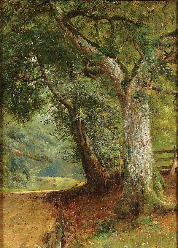 FREDERICK HINES (British Fl. 1875-1897)
