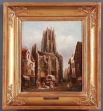 Thomas Matthews Rooke (British 1842-1942) Oil on canvas