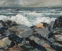 GREAT JOHN GRABACH SEASCAPE