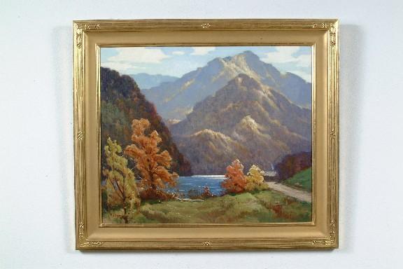 Rudolph F Ingerle American 1879 1950 Quot Landscape Quot Oil On C