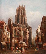THOMAS MATTHEWS ROOKE(British 1842-1942) Outside