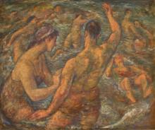 """Harry A. Davis: """"The Swimmers"""""""