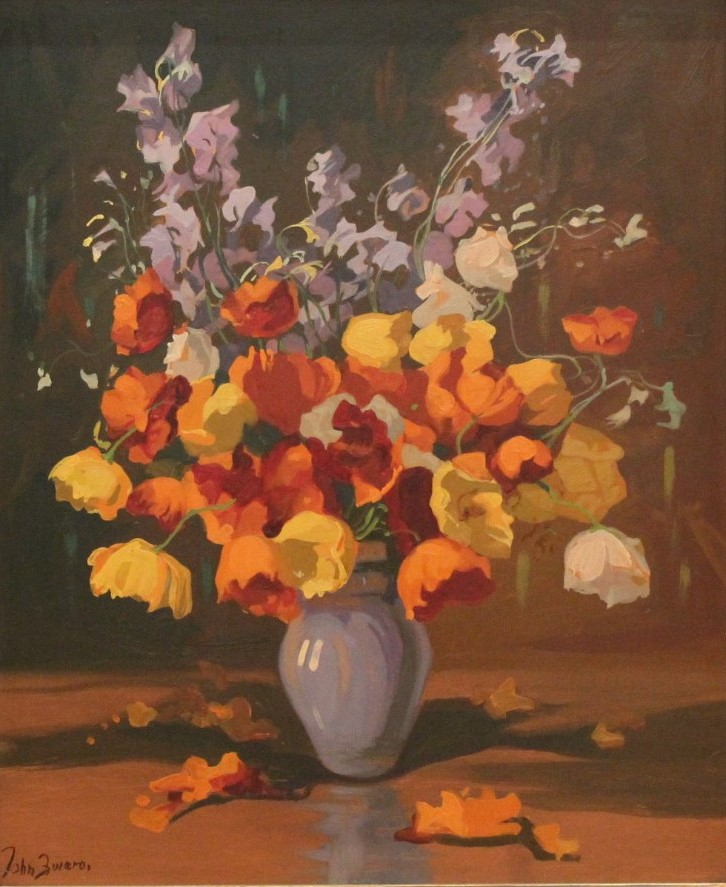 Jan Zwara: Floral Still Life