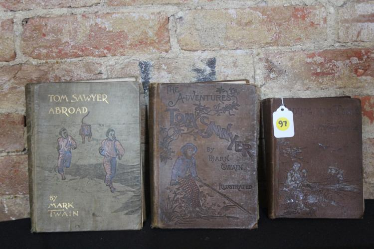 3 First Edition Books with loose binding