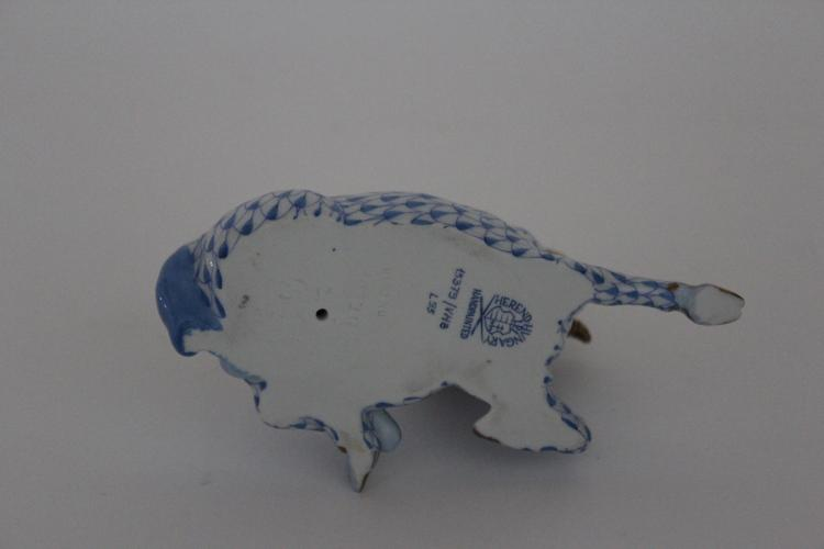 Herend Hand Painted Porcelain Ram
