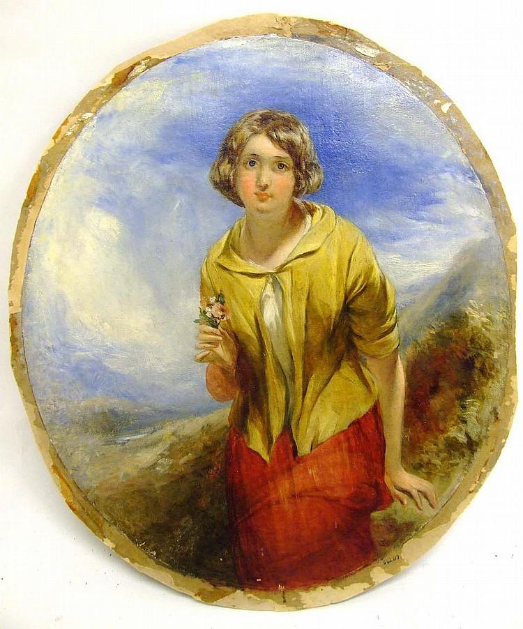 Thomas Crane, 1808-1859, England PORTRAIT OF A