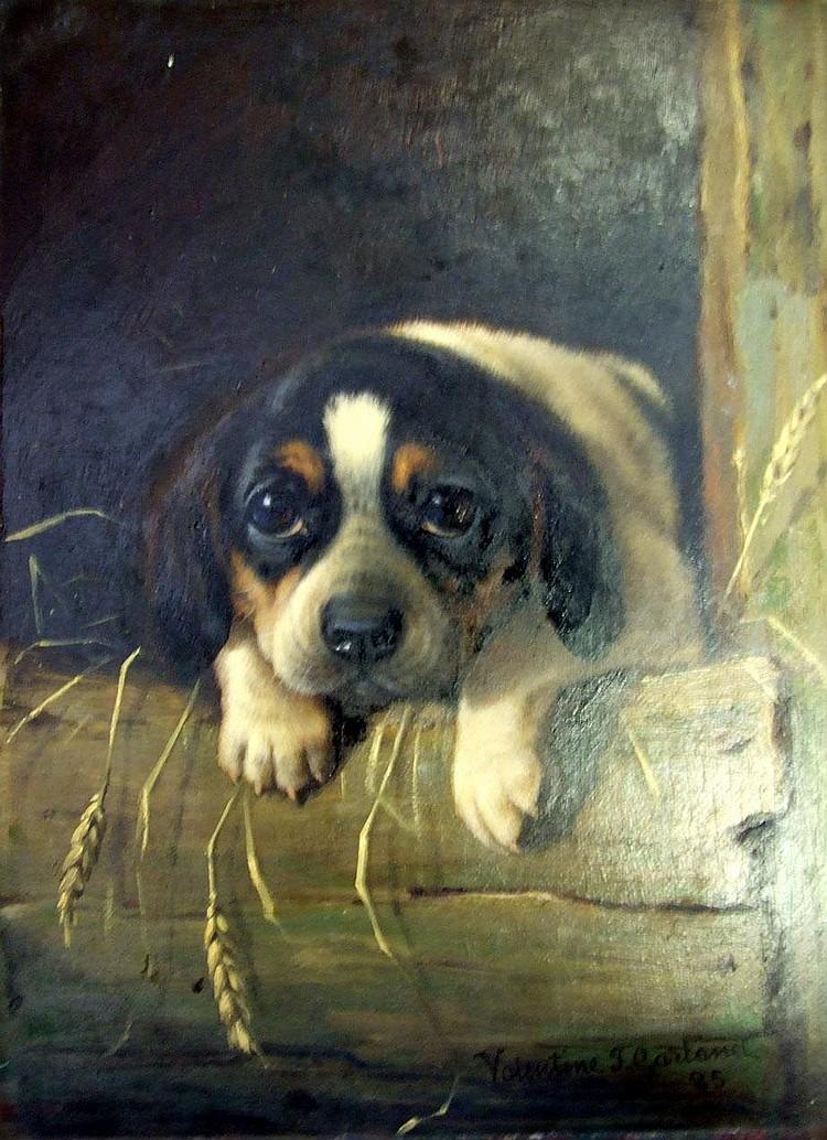 Valentine Thomas Garland (1868-1914) PORTRAIT OF A