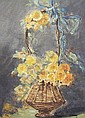 Mary Golay 1869-1944 England STILL LIFE BASKET OF, Mary Speich, Click for value