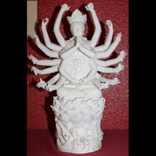 Signed Dehua Porcelain Buddha Guan Yin Kwan-Yin Avalokite_vara Bodhisattva