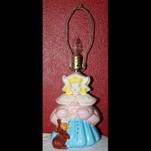 Vintage McCoy? Goldilocks Table Lamp