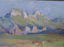 HERMANJAT Abraham Jacques Élie, 1862-1932 [CH]. «En Zenda – dans la régio