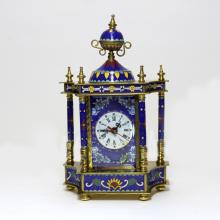 Cloisonne Enamel Copper European Clock