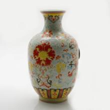 Marked Famille Rose Porcelain Pot