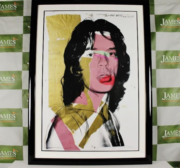 Andy Warhol | Mick jagger Invitation (1975) | Artsy