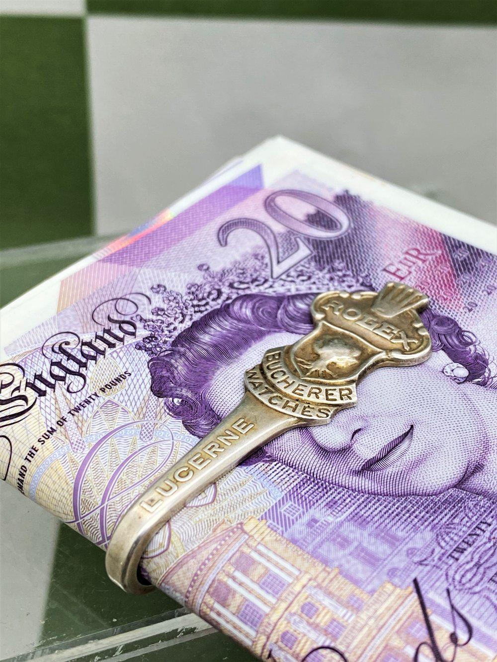 Vintage Rolex Money Clip