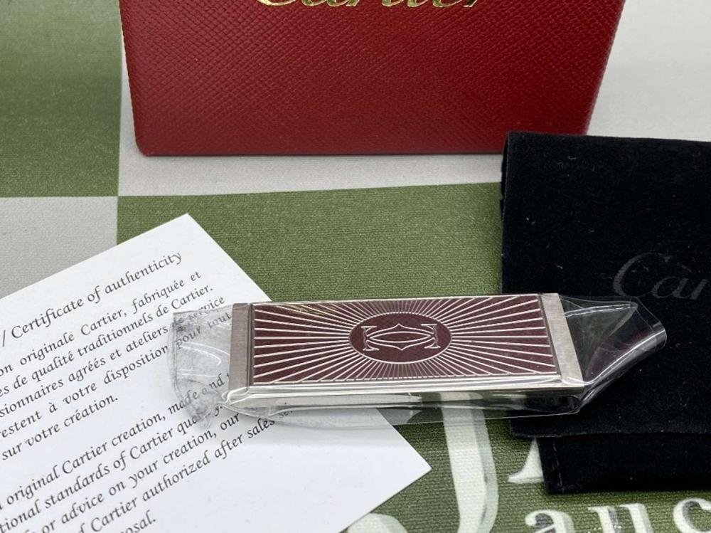 Cartier Paris- Latest Edition Money Clip