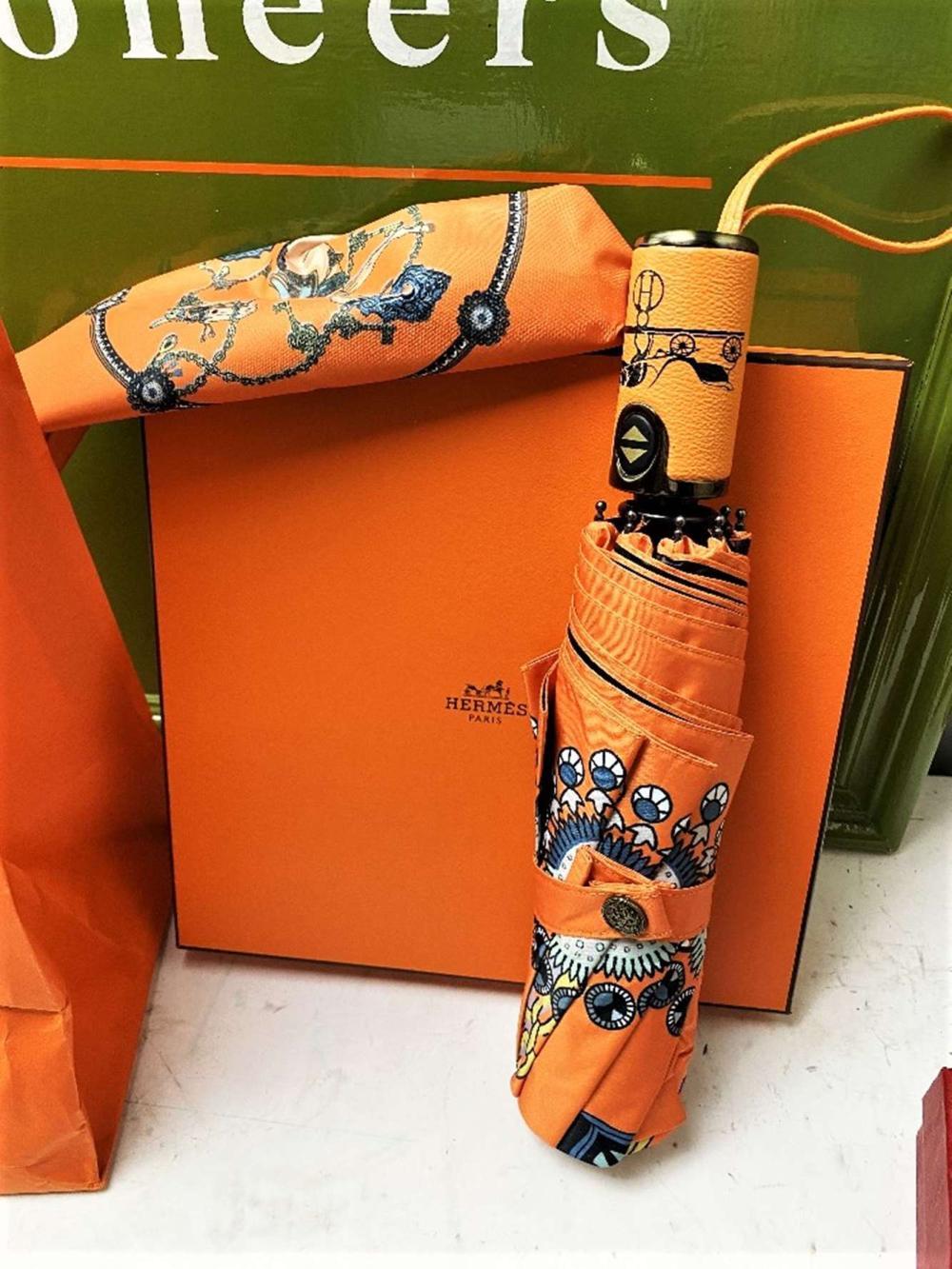 """Hermes """"Horses"""" Automatic Umbrella-Ex Display Example"""