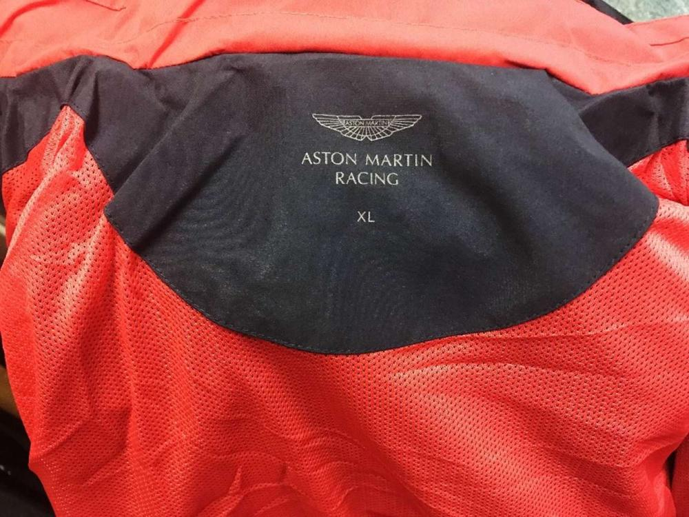 Aston Martin Hackett Official Jacket New Item Rrp 299