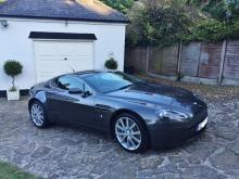 Aston Martin Vantage 2006, mint low mileage example. full Aston Martin service history