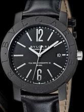 A gent' Bulgari carbon gold Roma Ltd Edition