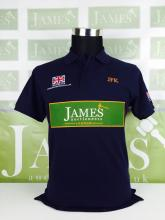James Auctioneers Polo Shirt merchandise as sold at our Leman 24hrs Aston Martin corporate retail unit