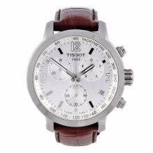 A gent's Tissot PRC 200 chronograph wrist watch