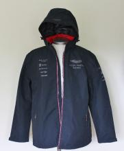 New in packaging official pit crew Hackett - Aston Martin sports jacket, water proof. RRP £249.99