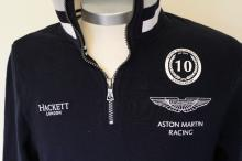 Official pit crew Hackett - Aston Martin sports fleece RRP £249.99