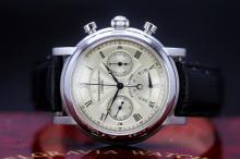 A ltd edition of only 500 Belgravia Watch Company power tempo chronograph, original RRP £1995