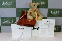 A Stieff bear celebrating Prince William & Kate wedding, boxed & certificated