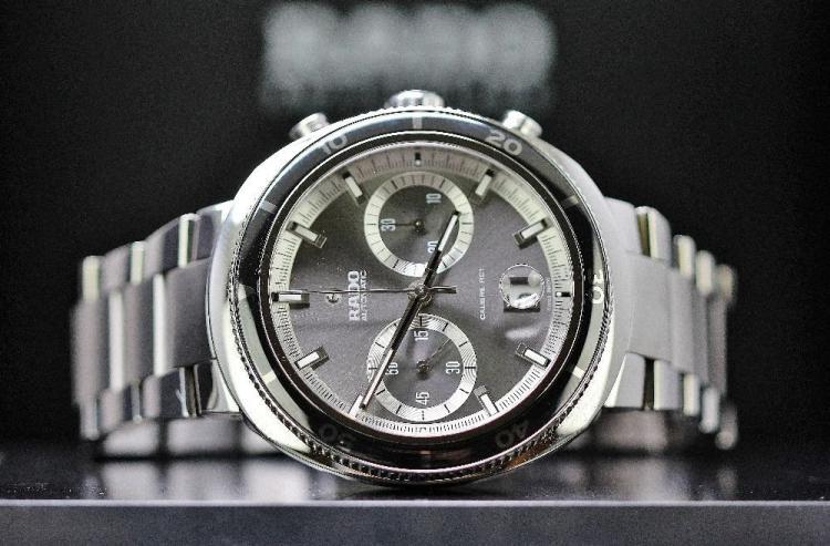 A gent`s Rado D Star 200M chronograph automatic big face edition, RRP £1995