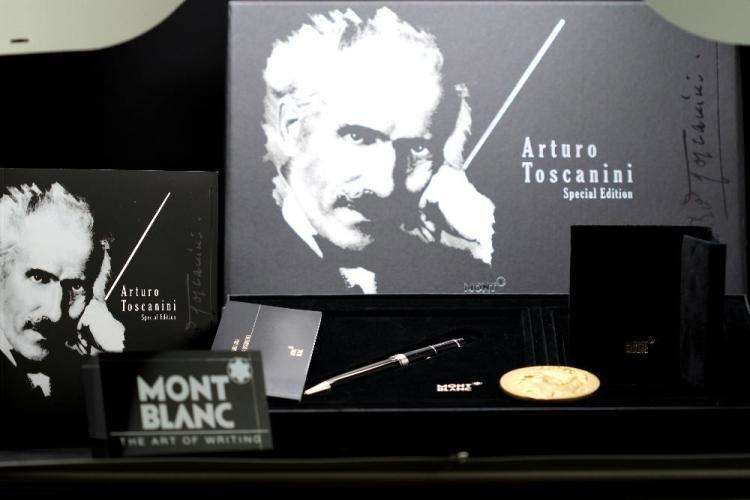 Montblanc special edition Arturo Toscanini ballpoint pen set