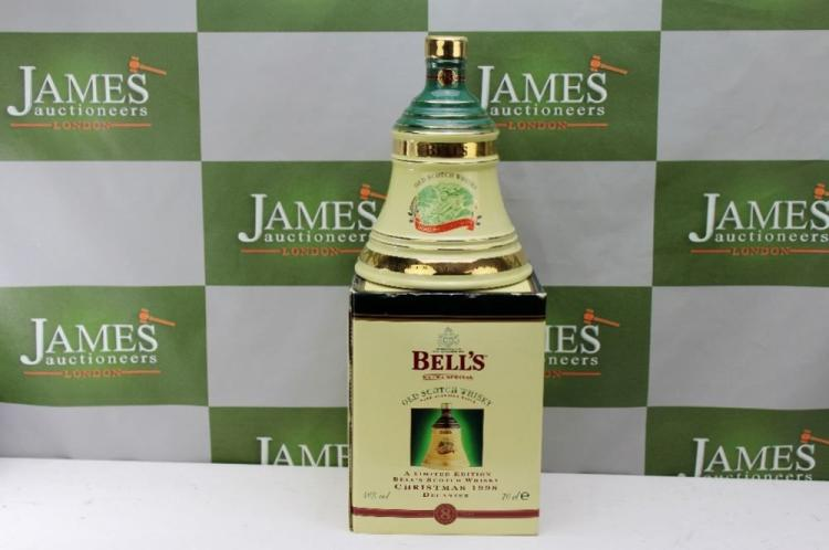 Boxed Wade Bell's -Scotch Whiskey Decanter ltd edition, all sealed and unopened.