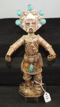 NAVAJO STERLING SILVER KACHINA BY