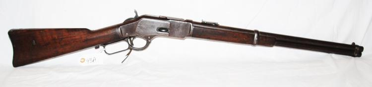 WINCHESTER MODEL 1873 SADDLE RING CARBINE .44  CAL - SERIAL # 325995B