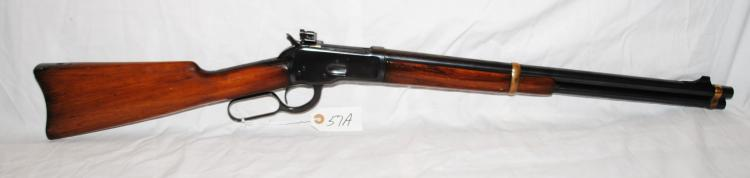 WINCHESTER MODEL 92 SADDLE RING CARBINE  CUSTOM - .44 MAG -  20
