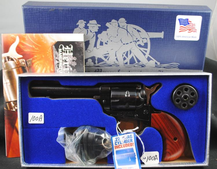 HERITAGE 22.22M REVOLVER - NEW IN BOX - ROUGH RIDER SERIES