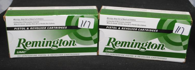 100 ROUNDS OF REMINGTON 380 ACP AMMO