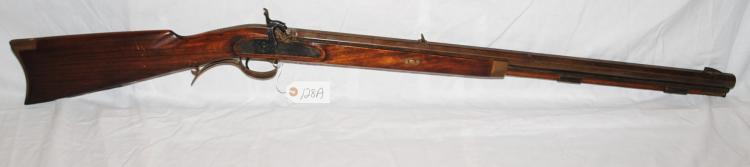 LYMAN .50 CAL BLACK POWDER TRADE RIFLE - SERIAL # 123872 - MADE IN ITALY