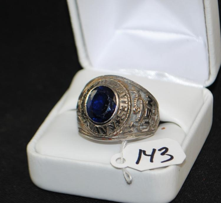 MEN'S U.S. NAVY RING - SIZE APPROX. 11 1/2