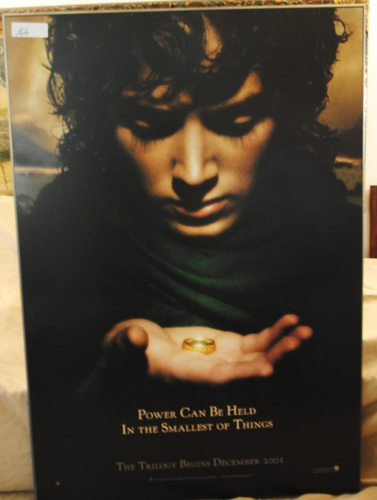 LORD OF THE RINGS MOUNTED POSTER - THE POWER CAN BE HELD IN THE SMALLEST OF THINGS